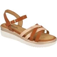 Zapatos Mujer Sandalias Tephani TF2202 Camel