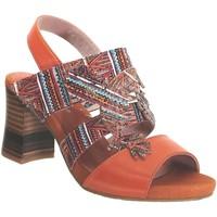 Zapatos Mujer Sandalias Laura Vita Ceclesteo 01 Naranja multi