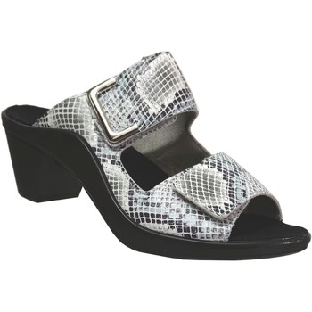 Zapatos Mujer Zuecos (Mules) Romika Westland St.tropez 353 Boa blanca
