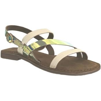 Zapatos Mujer Sandalias Metamorf'Ose Jaladin platino