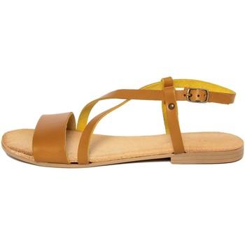 Zapatos Mujer Sandalias Lionellaeffe Eccellenza Toscana  Giallo