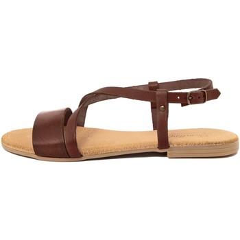 Zapatos Mujer Sandalias Lionellaeffe Eccellenza Toscana  Marrone