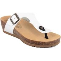 Zapatos Mujer Chanclas Summery  Bianco