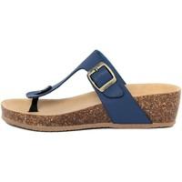 Zapatos Mujer Chanclas Summery  Blu