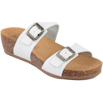 Zapatos Mujer Zuecos (Mules) Summery  Bianco