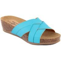 Zapatos Mujer Zuecos (Mules) Summery  Blu
