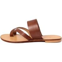 Zapatos Mujer Chanclas Summery  Marrone
