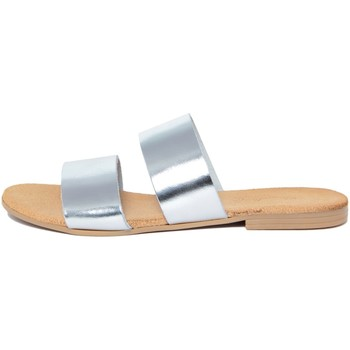 Zapatos Mujer Zuecos (Mules) Lionellaeffe Eccellenza Toscana  Argento