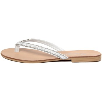 Zapatos Mujer Chanclas Mariella  Bianco