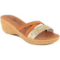 Zapatos Mujer Sandalias Summery  Oro