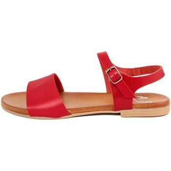 Zapatos Mujer Sandalias Alissa  Rosso