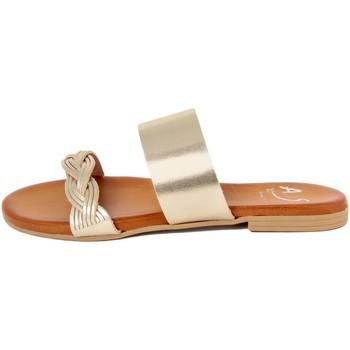 Zapatos Mujer Zuecos (Mules) Alissa  Oro