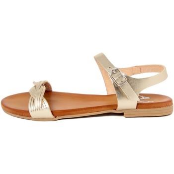 Zapatos Mujer Sandalias Alissa  Oro