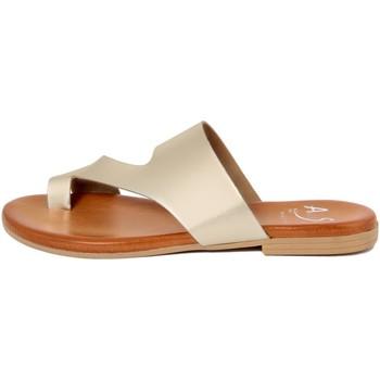Zapatos Mujer Chanclas Alissa  Oro