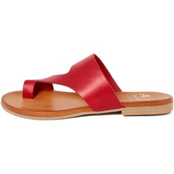 Zapatos Mujer Chanclas Alissa  Rosso