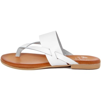 Zapatos Mujer Chanclas Alissa  Bianco
