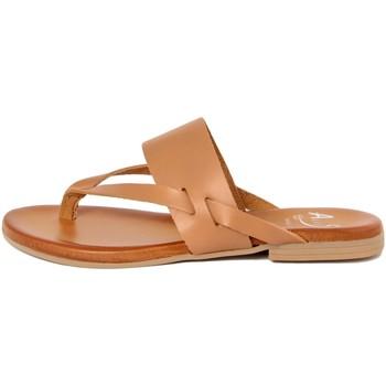 Zapatos Mujer Chanclas Alissa  Beige