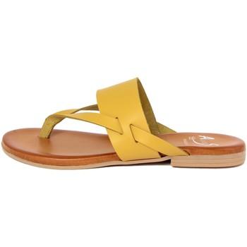 Zapatos Mujer Chanclas Alissa  Giallo