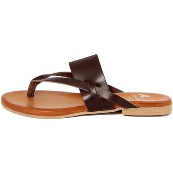 Zapatos Mujer Chanclas Alissa  Marrone