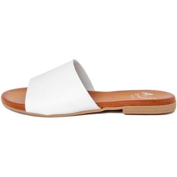 Zapatos Mujer Zuecos (Mules) Alissa  Bianco