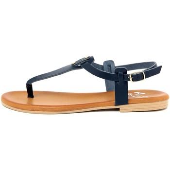 Zapatos Mujer Chanclas Alissa  Blu
