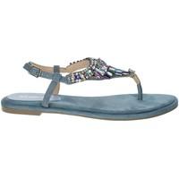 Zapatos Mujer Sandalias Menbur 22327 Avio azul