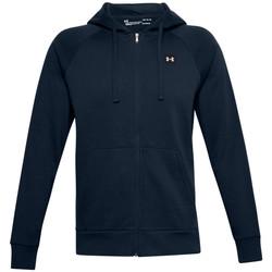 textil Hombre Chaquetas de deporte Under Armour Rival Fleece FZ Hoodie Bleu marine