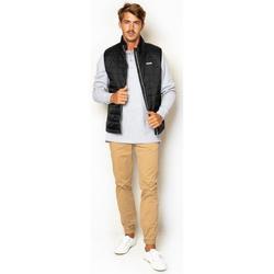 textil Hombre Abrigos La Promenade CL01S015 negro