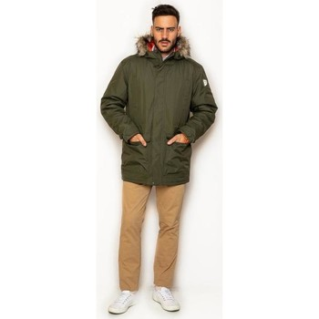 textil Hombre Abrigos La Promenade CQ11S005 verde