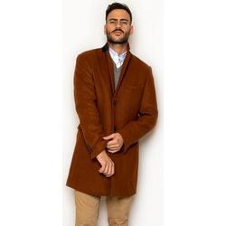 textil Hombre Abrigos La Promenade CQ14S010 Marrón