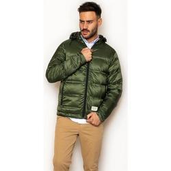 textil Hombre Abrigos La Promenade CQ18S005 Verde