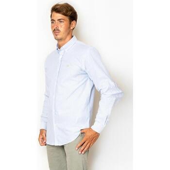textil Hombre Camisas manga larga La Promenade CS03S070 azul