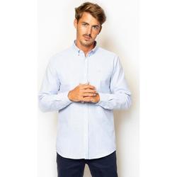 textil Hombre Camisas manga larga La Promenade CS03S072 Azul