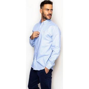 textil Hombre Camisas manga larga La Promenade CS03S085 azul