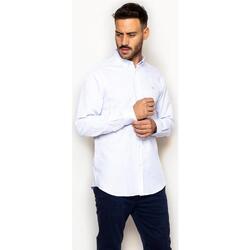 textil Hombre Camisas manga larga La Promenade CS03S143 blanco