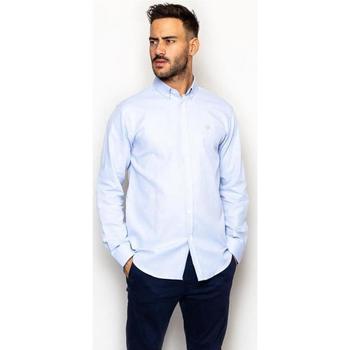 textil Hombre Camisas manga larga La Promenade CS17S012 azul