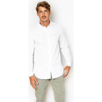 textil Hombre Camisas manga larga La Promenade CS17S014 Blanco
