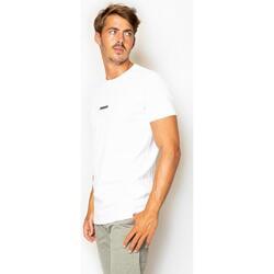 textil Hombre Camisetas manga corta La Promenade CT05S014 blanco