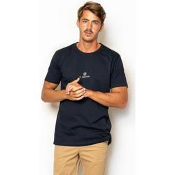 textil Hombre Camisetas manga corta La Promenade CT12S001 azul