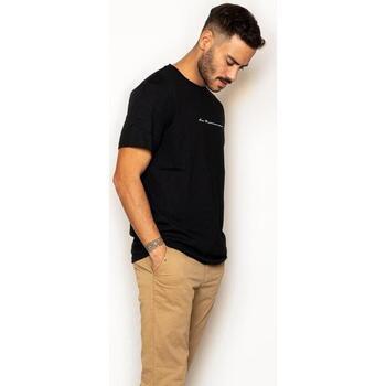 textil Hombre Camisetas manga corta La Promenade CT16S015 Negro