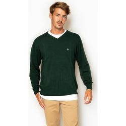 textil Hombre Sudaderas La Promenade JE01S009 Verde