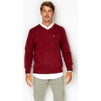 textil Hombre Sudaderas La Promenade JE01S011 rojo