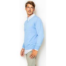 textil Hombre Sudaderas La Promenade JE01S012 Azul