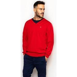 textil Hombre Sudaderas La Promenade JE01S020 rojo