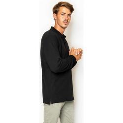 textil Hombre Camisetas manga larga La Promenade PL04S015 Negro