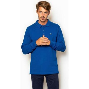 textil Hombre Camisetas manga larga La Promenade PL04S017 azul