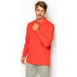 textil Hombre Polos manga larga La Promenade PL04S020 Rojo