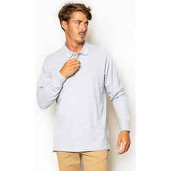 textil Hombre Polos manga larga La Promenade PL04S023 Gris