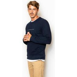 textil Hombre Sudaderas La Promenade SU13S001 azul