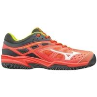 Zapatos Mujer Fitness / Training Mizuno Break Shot EX CC Rojos, Grises
